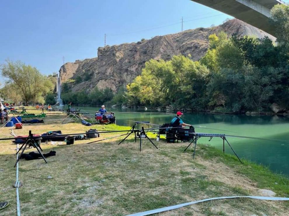 Los pescadores júniors compitieron en el Coto Río Cinca.