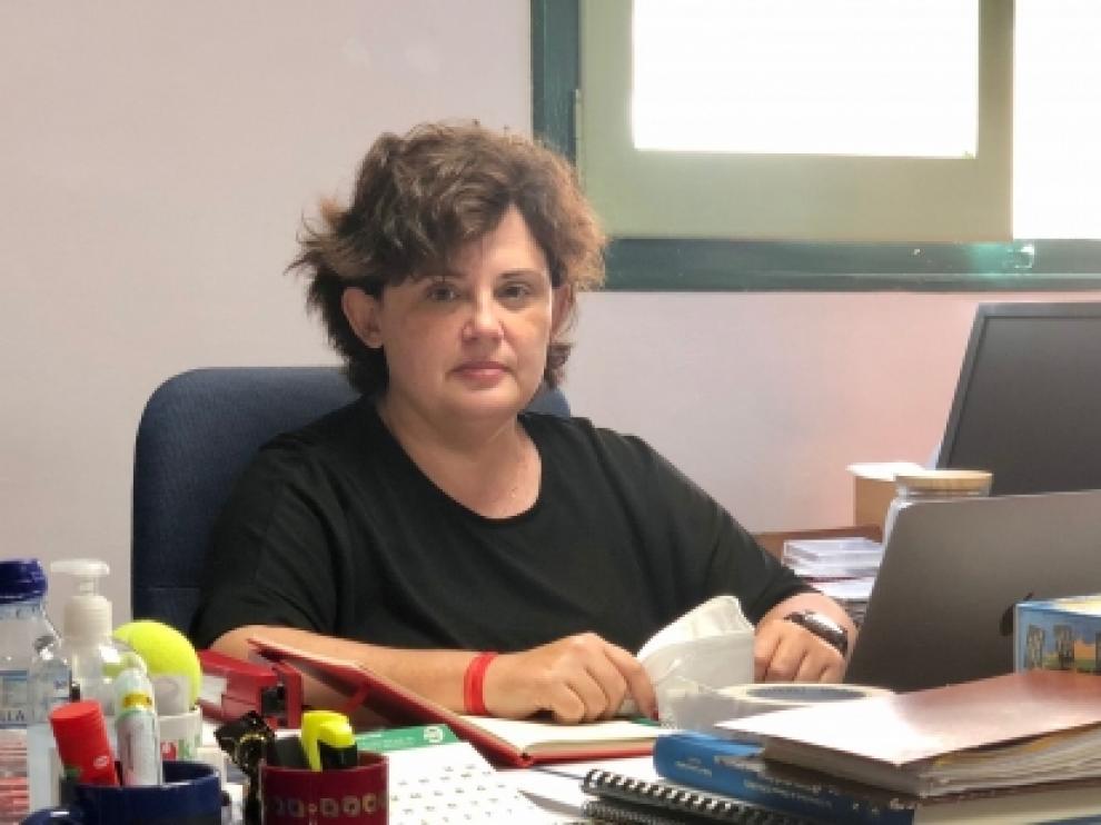 Amparo Roig, nueva directora del Servicio Provincial de Educación, Cultura y Deporte de Huesca