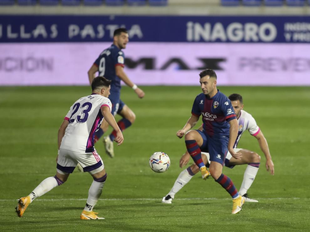 Borja García llegó la pasada temporada al Huesca.