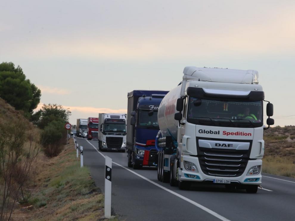 El fin de los peajes espera descongestionar el tráfico en la N-II.