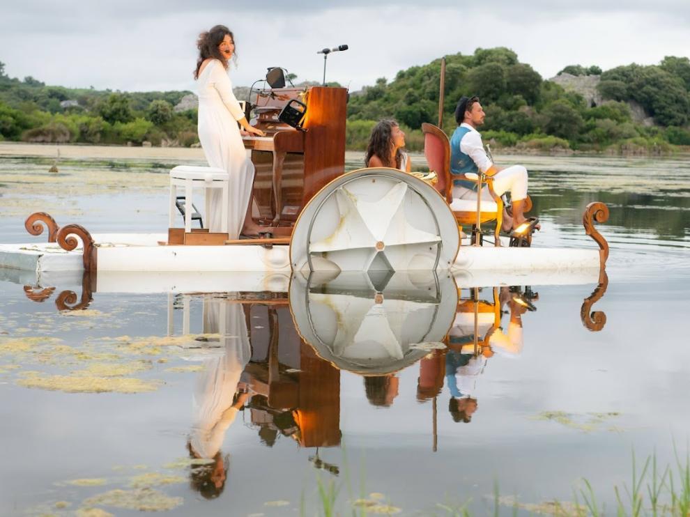 El pedalOpiano sonará en el lago del Balneario de Panticosa.