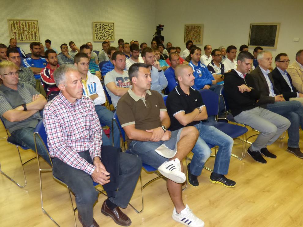 Imagen de un curso de entrenadores celebrado en Barbastro.