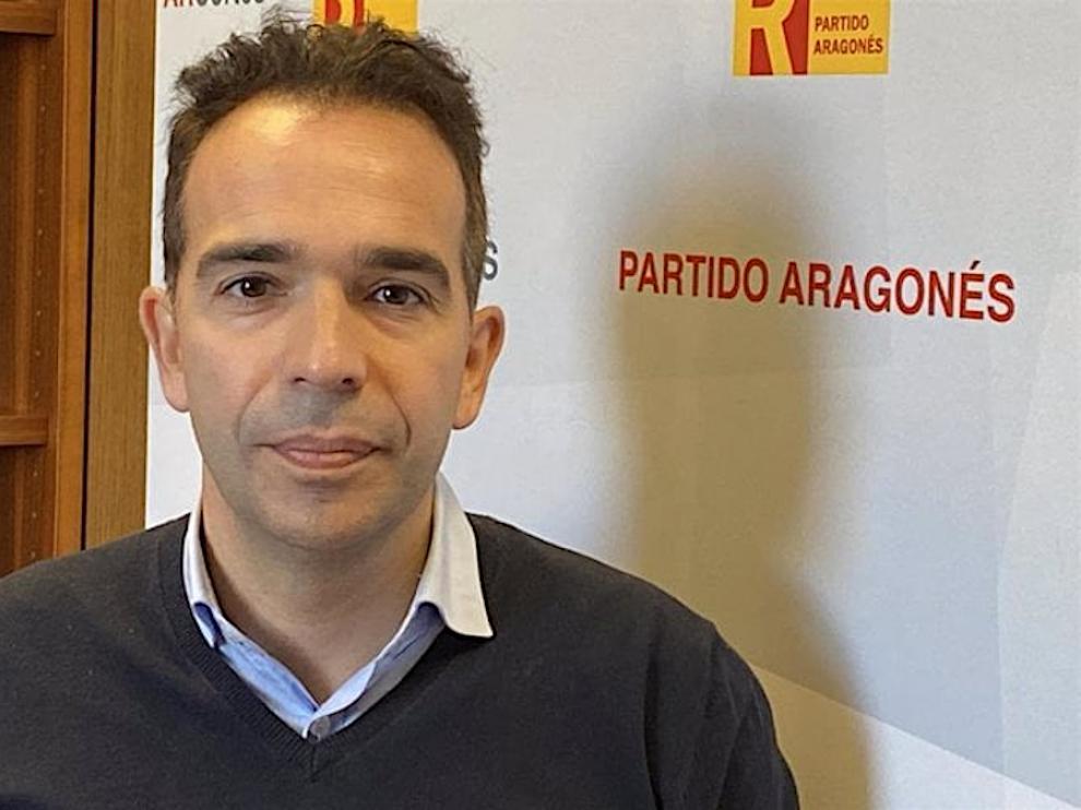Jesús Guerrero, portavoz del PAR en las Cortes