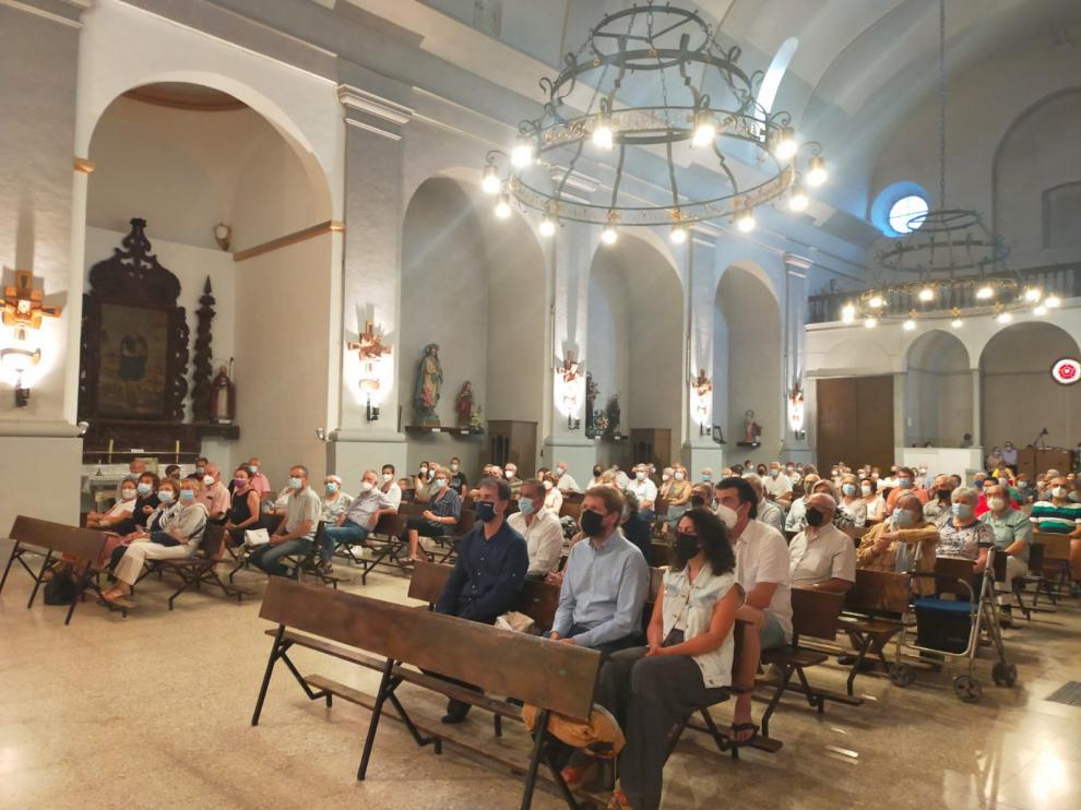 La Atlántida Chamber Orchestra cerró el festival en la iglesia de Benabarre.