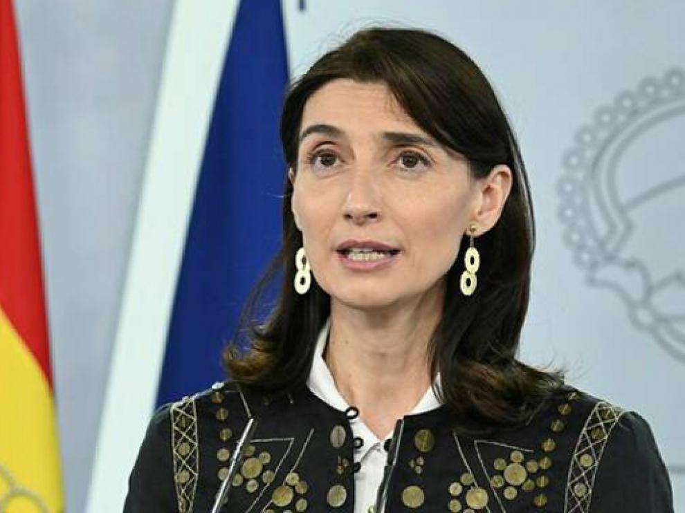 La ministra de Justicia, Pilar Llop