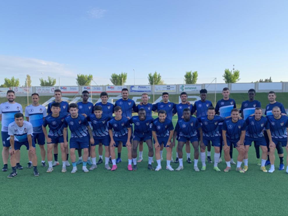 La plantilla del Club Deportivo Binéfar para la temporada 2021/2022.