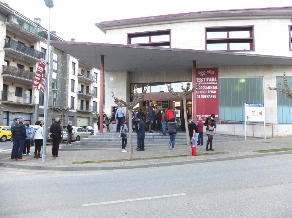 Palacio de Congresos de Boltaña, sede de 'Espiello'.