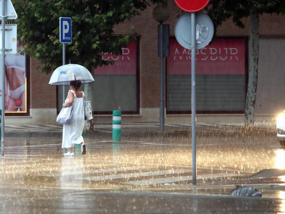 Según Aemet los avisos por lluvias y tormentas continuarán el jueves en el Pirineo