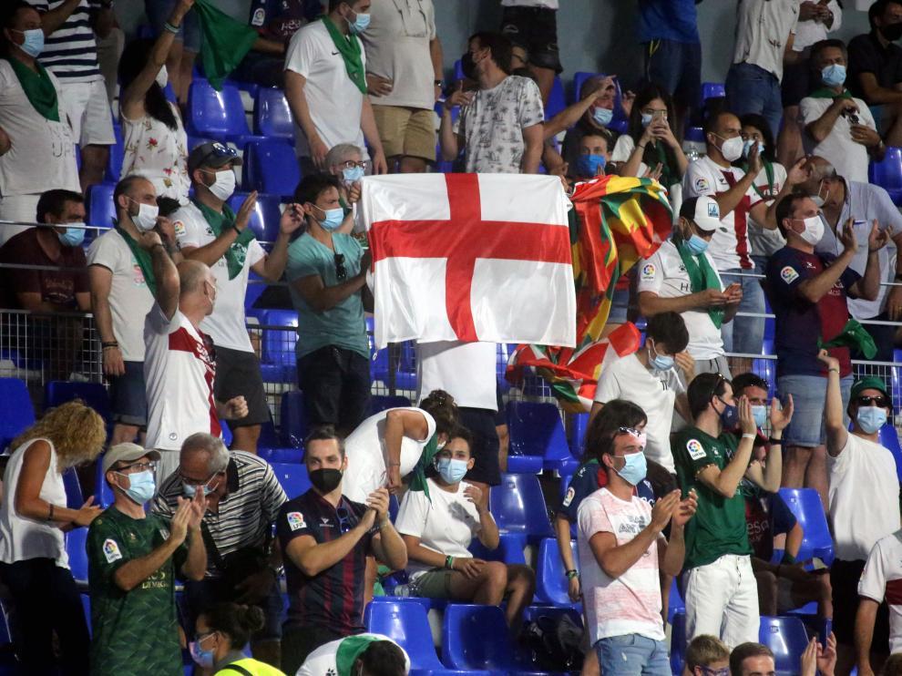 El Alcoraz contará con 5.400 espectadores en el próximo partido.