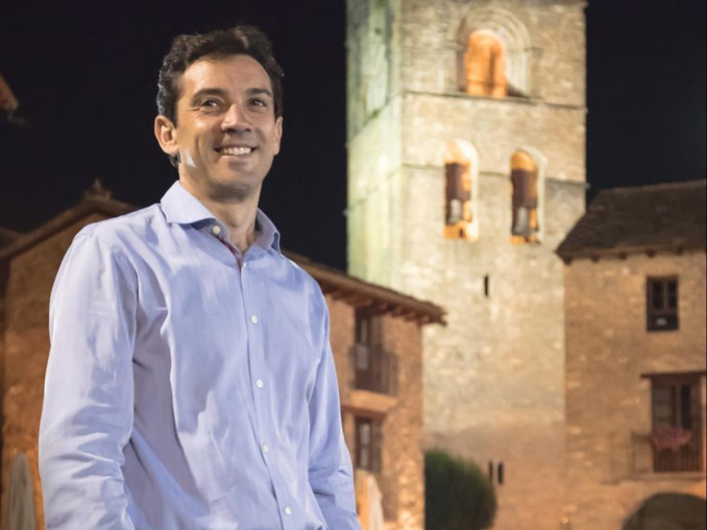 Enrique Pueyo, alcalde de Aínsa-Sobrarbe