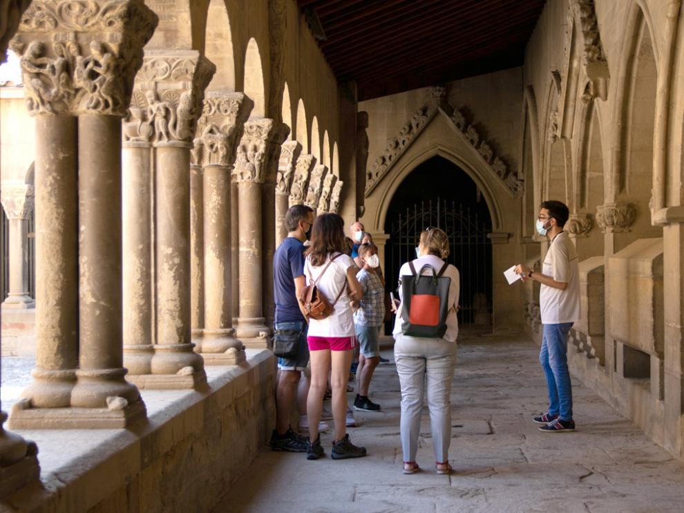 Visita guiada en el Monasterio de San Pedro El Viejo de Huesca