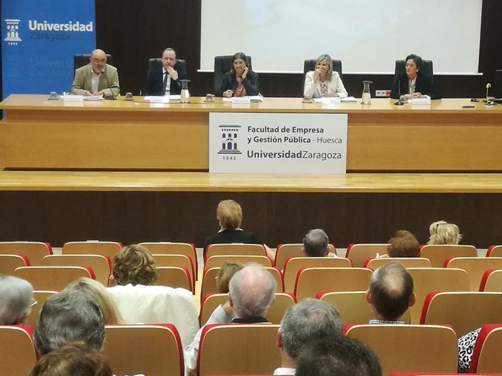 Inauguración curso de la Universidad de la Experiencia en Huesca en 2019