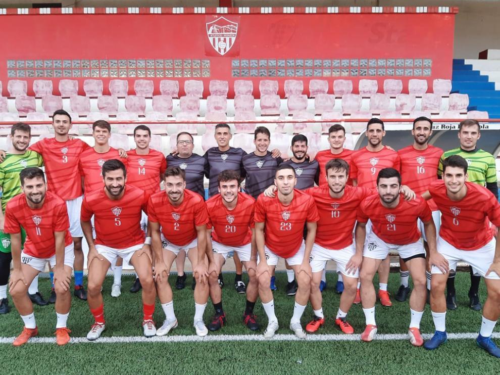 Plantilla y cuerpo técnico del Atlético Monzón