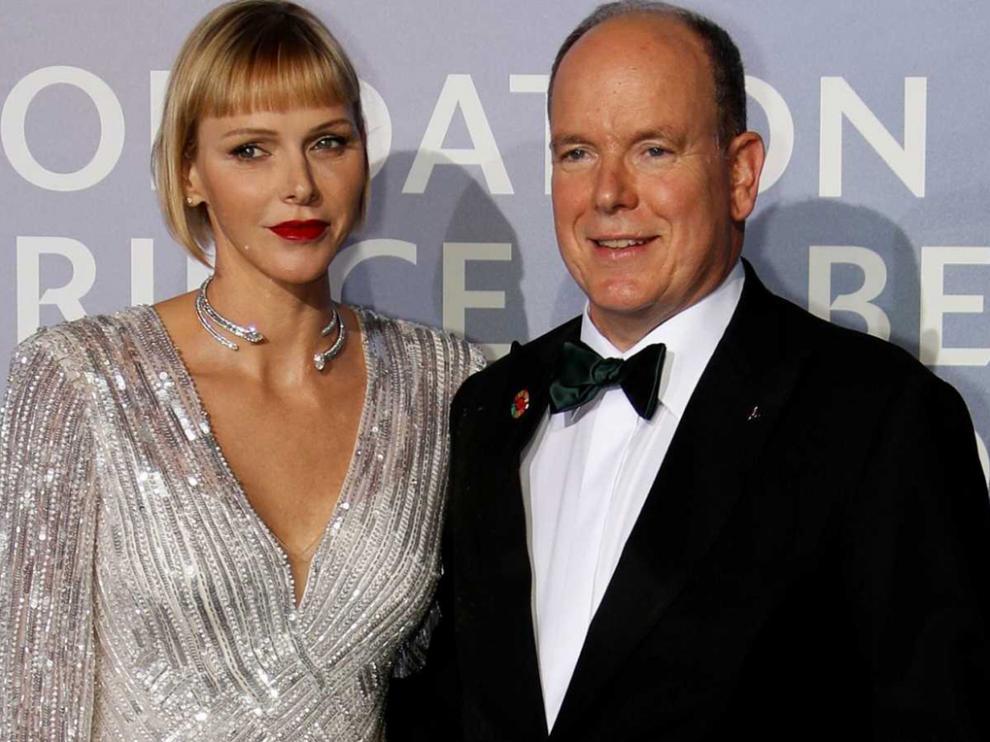 Alberto II y Charlene cumplieron en julio pasado diez años de matrimonio