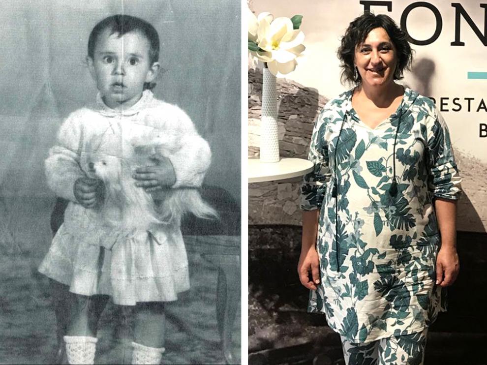 Ana Belén Castro regenta el restaurante oscense Fontao, en honor a la aldea homónima de Galicia donde nació