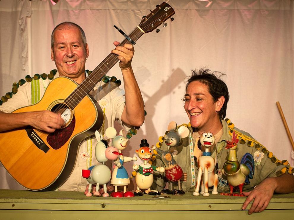 Eva Paricio y Txabi Ábrego protagonizan la obra