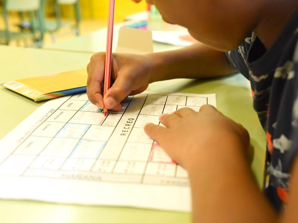Plan, Pallaruelo de Monegros y Valcarca, con cuatro escolares, son los centros más pequeños