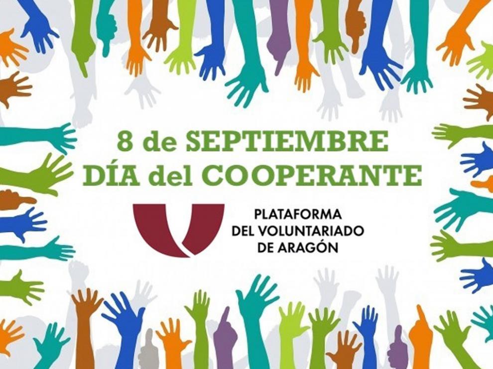 Cartel del Día del Cooperante.