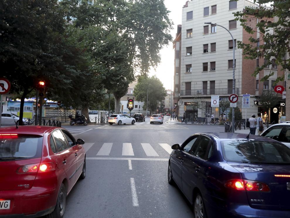 Los semáforos de Cabestany ya no se encienden a la vez para bajar la velocidad en dichas calles.
