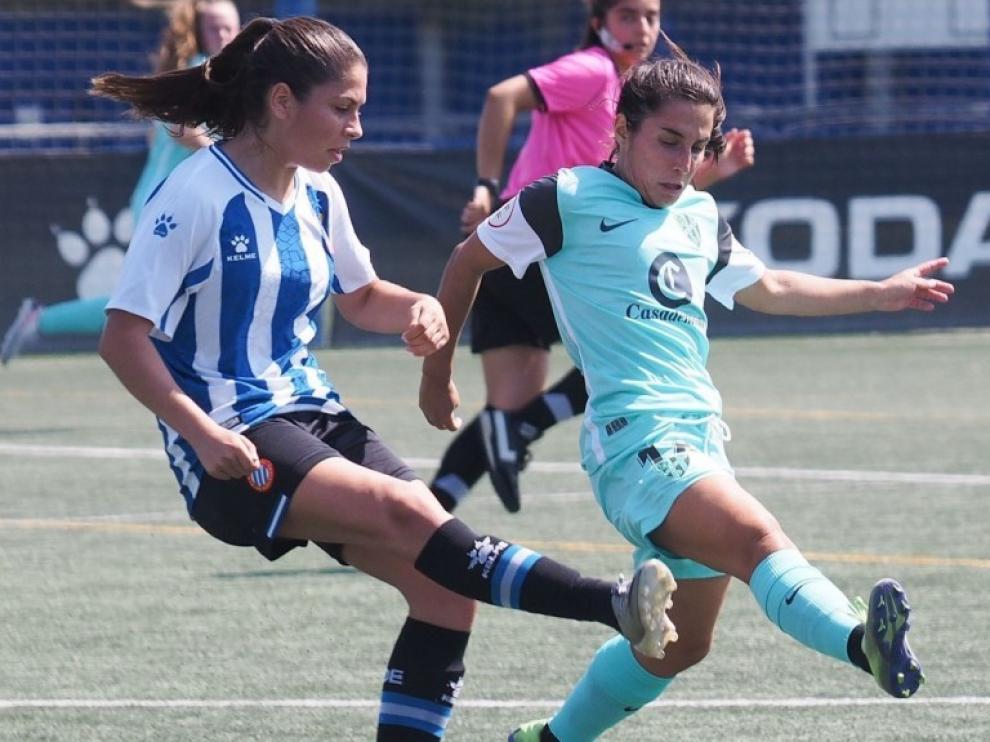 El Huesca plantó cara ante el Espanyol B.