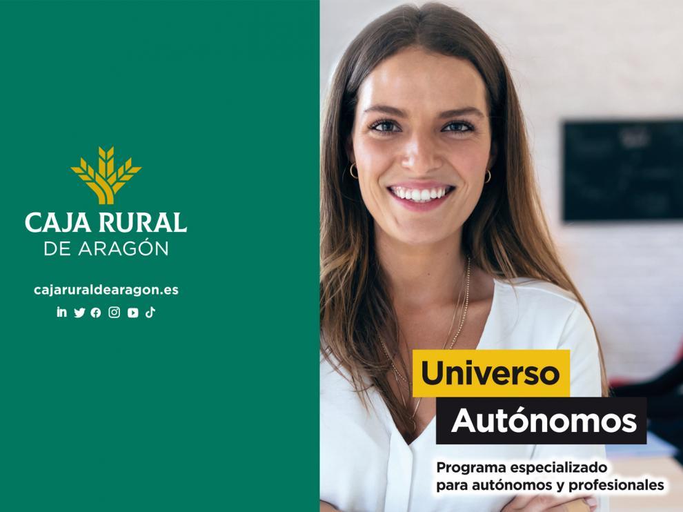 """Caja Rural de Aragón ha presentado su nuevo programa especializado  """"Universo Autónomos"""""""