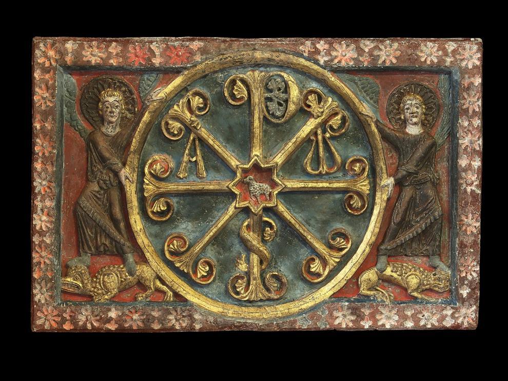 Crismon trinitario catedral Barbastro