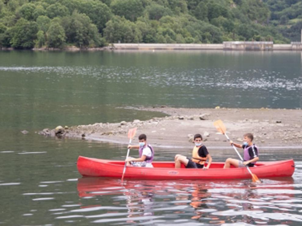 En la comunidad aragonesa ha habido 311 acampadas y colonias para menores entre julio y agosto