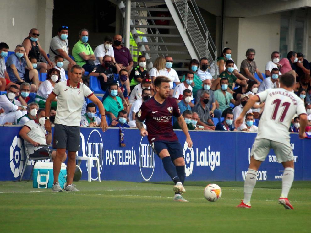 El Huesca jugará ante Fuenlabrada y Real Sociedad B en las jornadas 6 y 7 respectivamente.