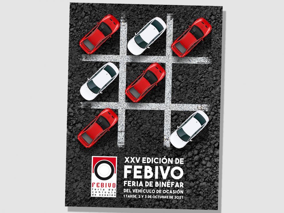 Cartel anunciador de la vigésimo quinta edición de Febivo