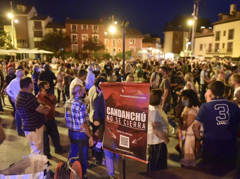 La jornada reivindicativa ha tenido lugar en la plaza Biscós.