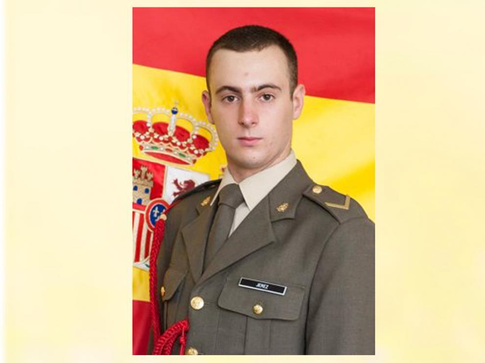 El caballero alférez cadete P.J.S. Ha fallecido durante el recorrido topográfico