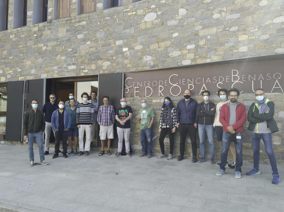 Centro ciencias Pedro Pascual, en Benasque. Congreso ''Física de Partículas y Cosmología en la Frontera'.