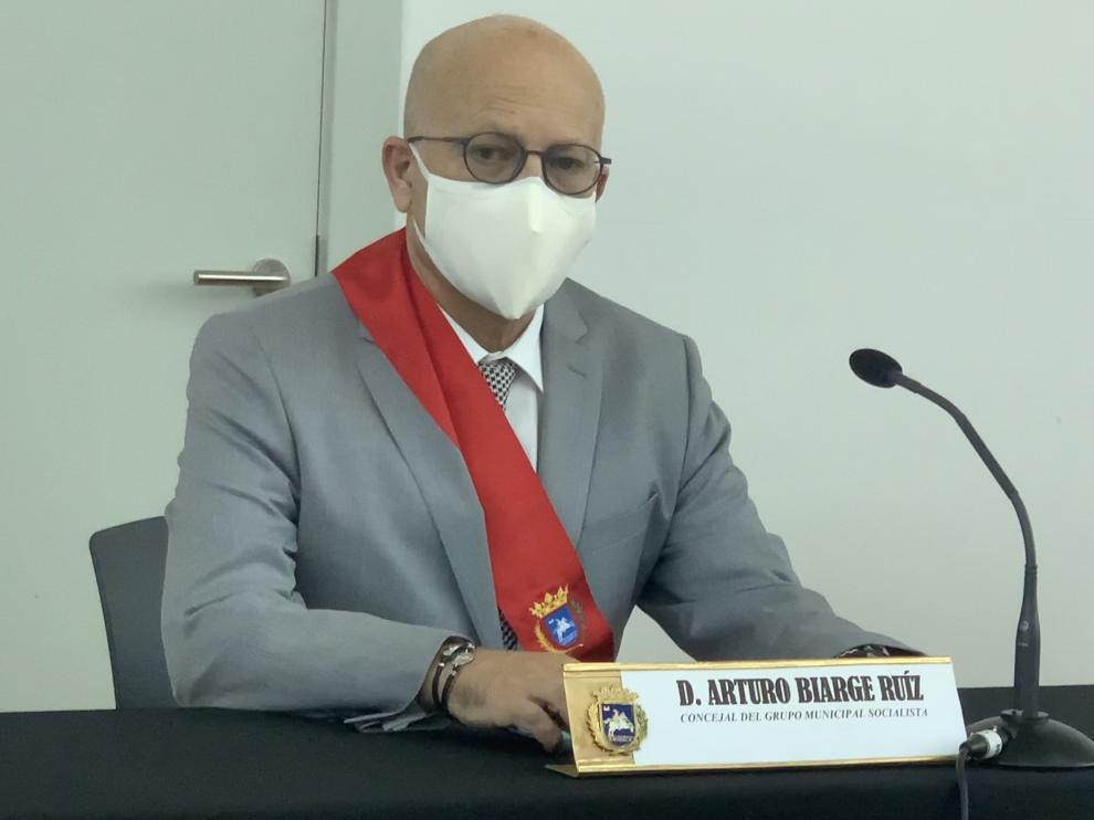 El nuevo concejal de Servicios Sociales, Arturo Biarge Ruíz.