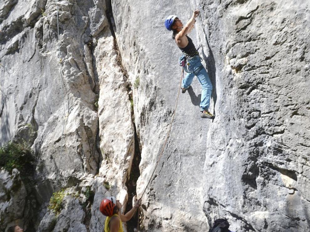 Los escaladores, el sábado.