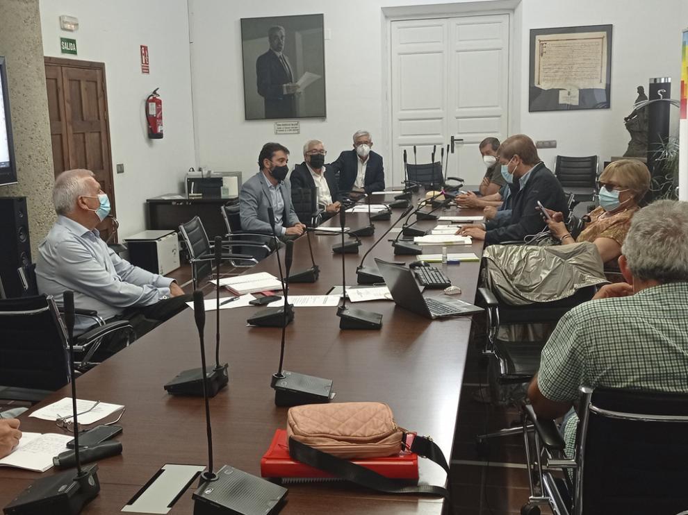 Reunión de la Comisión Ejecutiva de la Asociación Española de Municipios de Montaña.