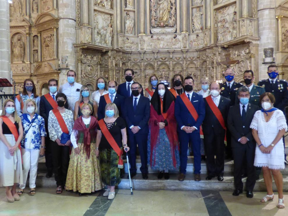 A la misa por la Natividad de Nuestra Señora asistieron autoridades municipales y autonómicas