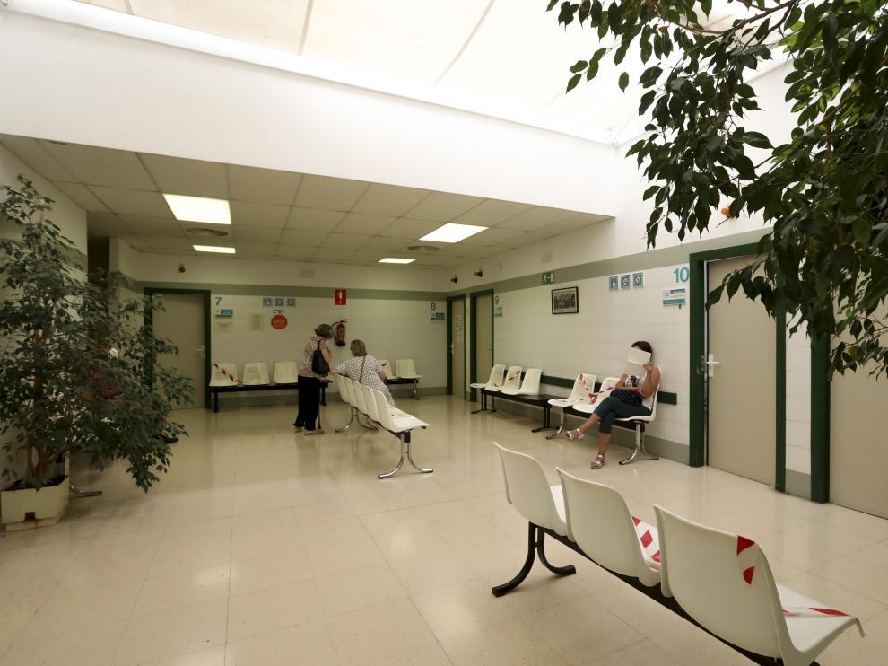 Centro de Salud del Perpetuo Socorro, cuya zona sanitaria ha reportado 8 casos este jueves.