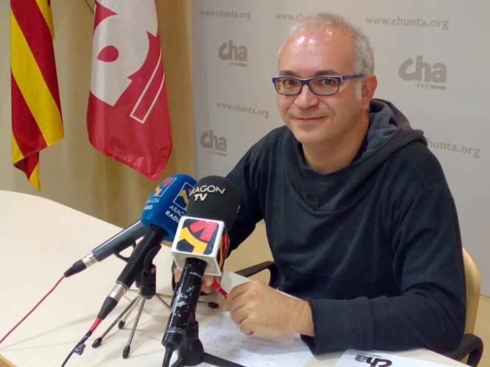 David Félez, coordinador del Rolde de Medio Ambiente de CHA