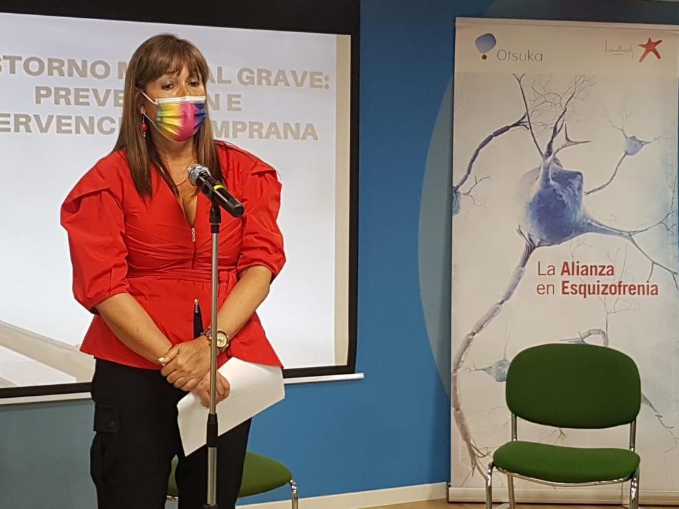 Sira Repollés ha participado en una jornada sobre Salud Mental organizada por ASAPME