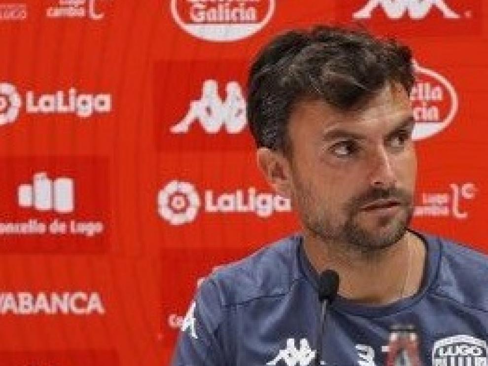 Rubén Albés, técnico del Lugo.