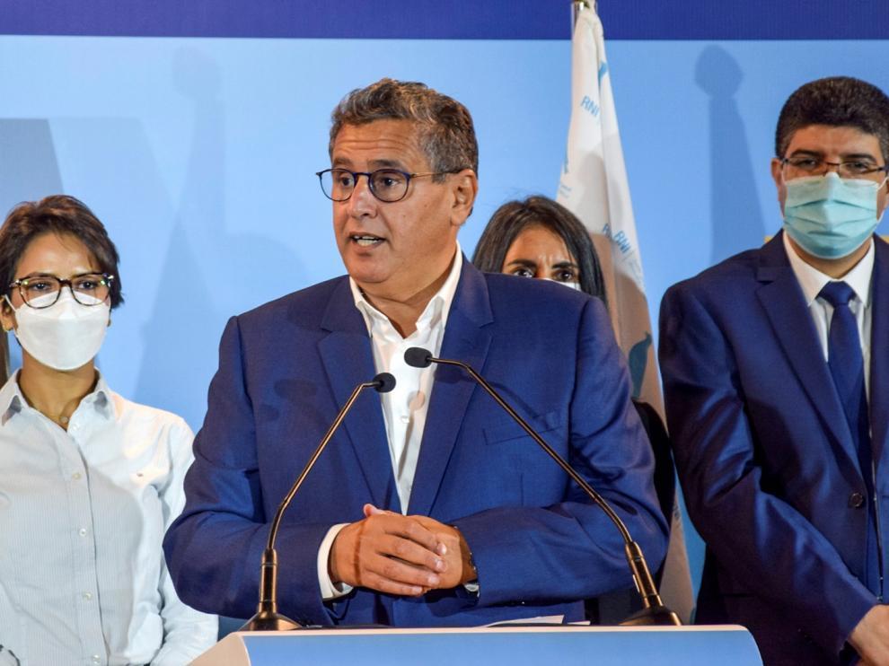 Aziz Ajanuch, líder del Partido Reagrupación Nacional de Independientes (RNI)