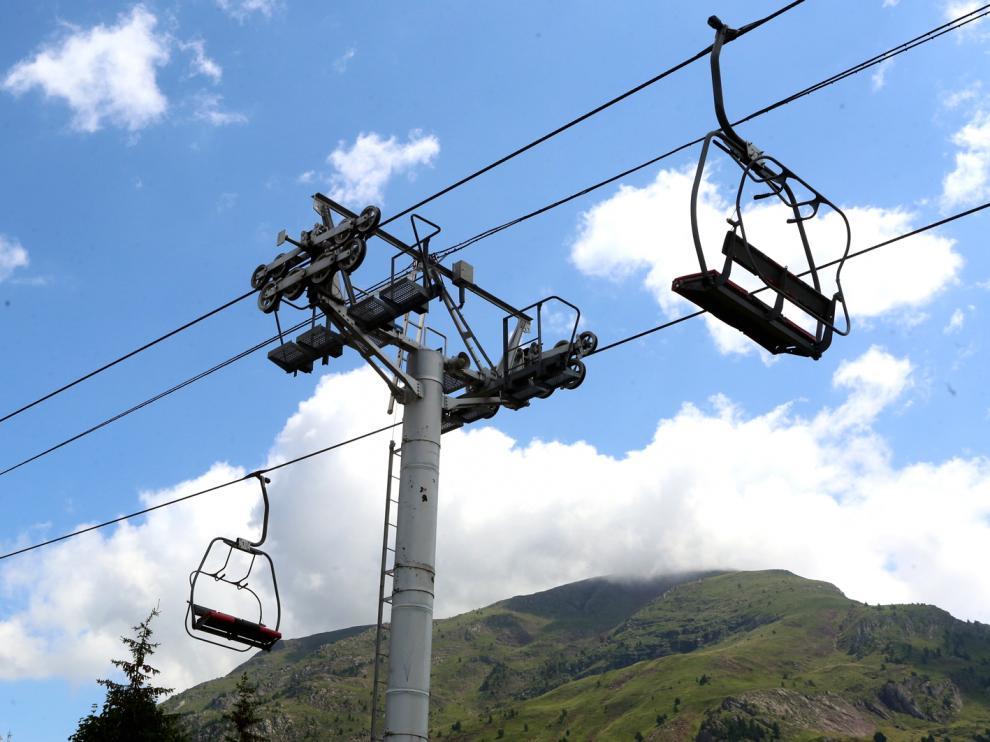 Estación de esquí de Candanchú este verano