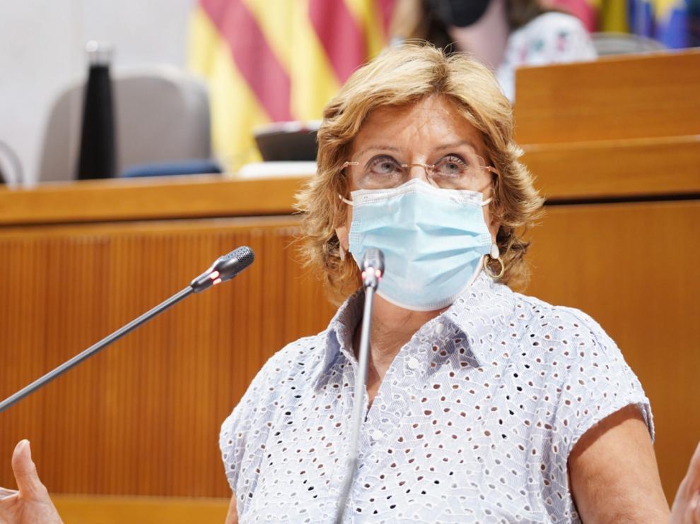 Mariví Broto, consejera de Ciudadanía y Derechos Sociales del Gobierno de Aragón