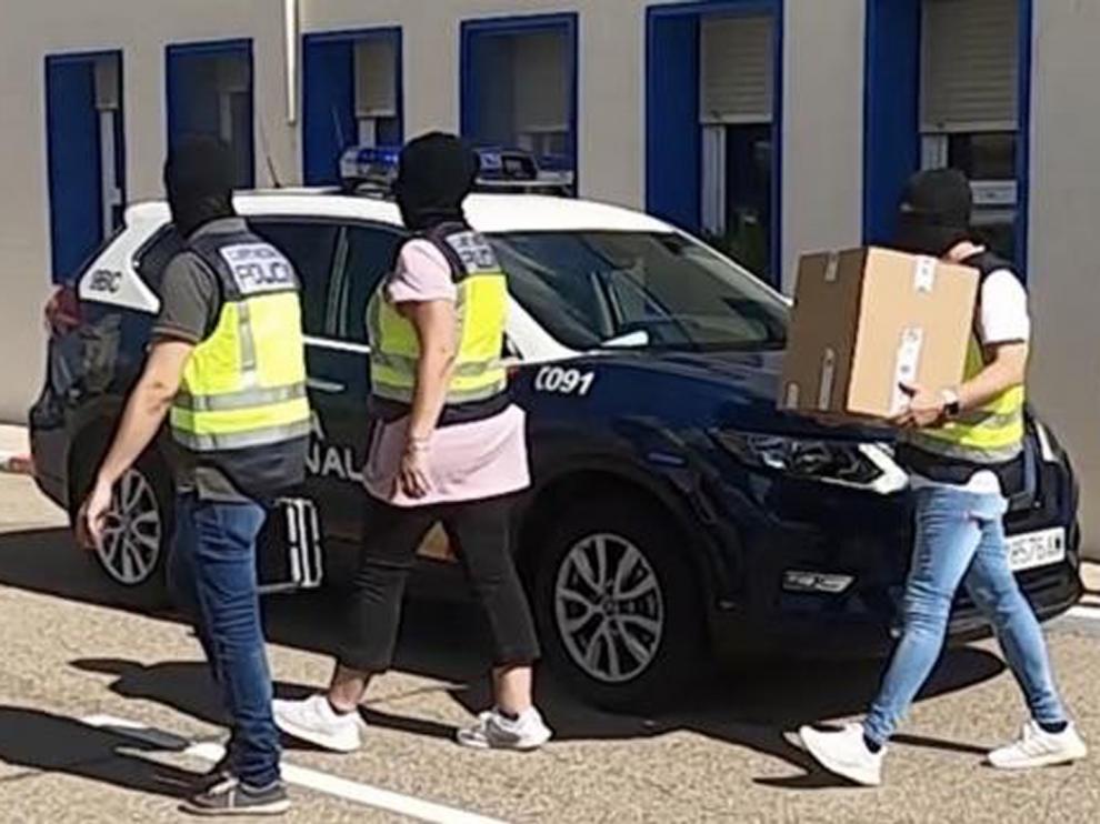 Operación policial en la cárcel de Daroca