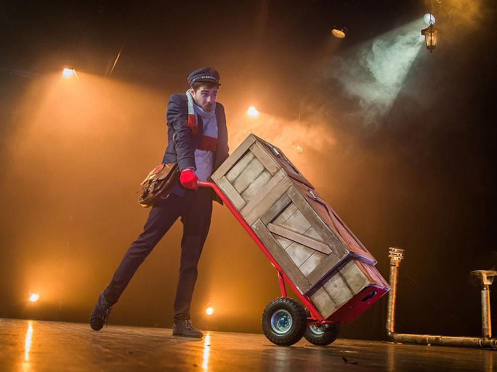 Txema Muñoz ofrecerá un número basado en magia, clown y mimo el sábado en el pabellón de hielo