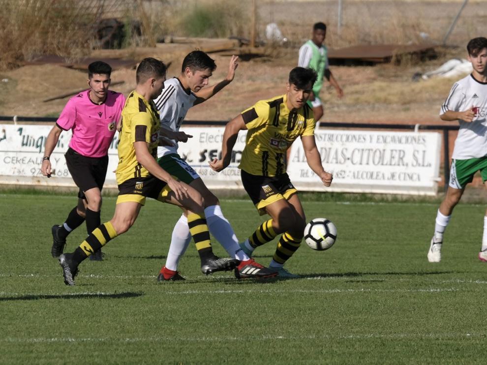 El Alcolea ha vencido al Peñas Oscenses por la mínima.