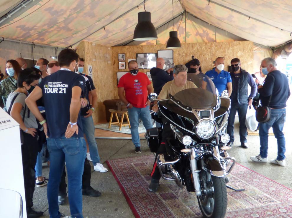 El BMW Motorrad Experience reúne este año a mil moteros debido a las restricciones.