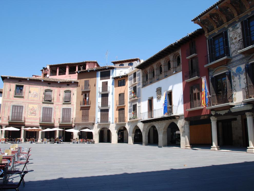 Plaza de Graus.