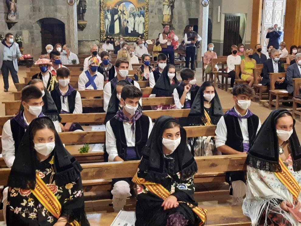 Imagen durante la misa en honor a San Vicente Ferrer
