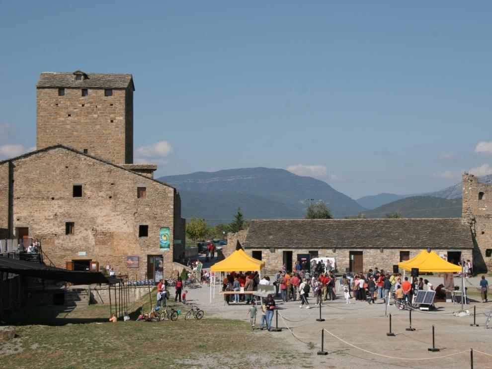 Climatic Festival en el Castillo de Aínsa en una de las ediciones pasadas.